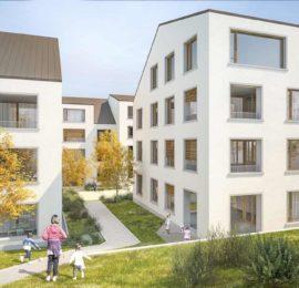 Berneck, Überbauung Hasler-Areal